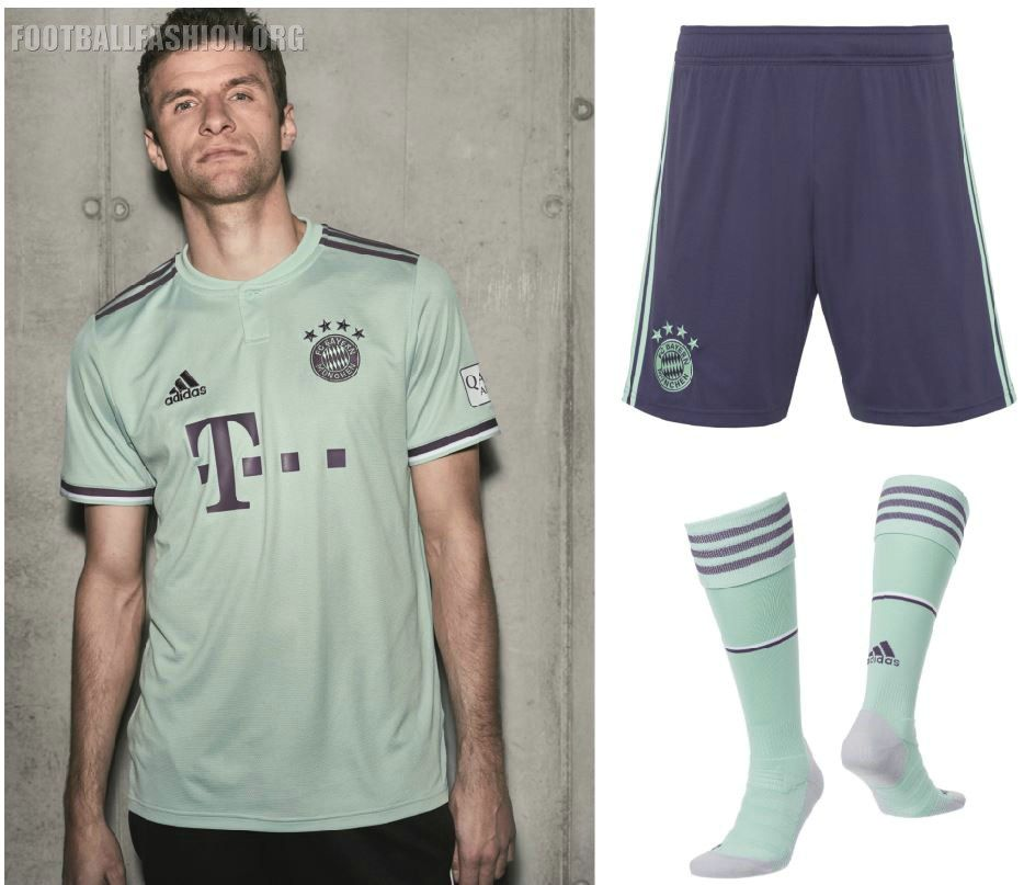 promo code 7ef54 9ea50 Bayern Munich 2018/19 adidas Away Kit | Jerseys