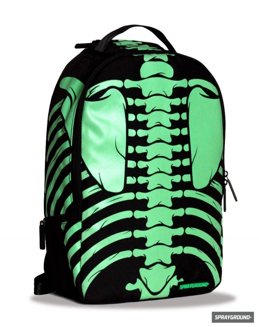 Bones (Glow-In-The-Dark) Backpack by Sprayground  anatomy  skeleton   backpack 4ab8fe085c509