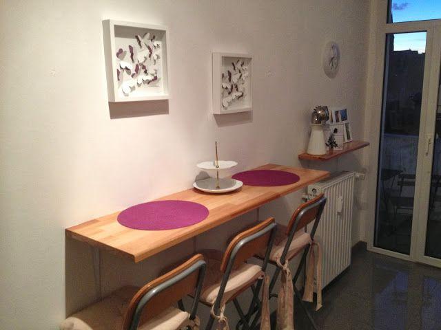 LiveLoveStudy Die perfekten Esstische für kleine Küchen! Ideen - küchentische für kleine küchen