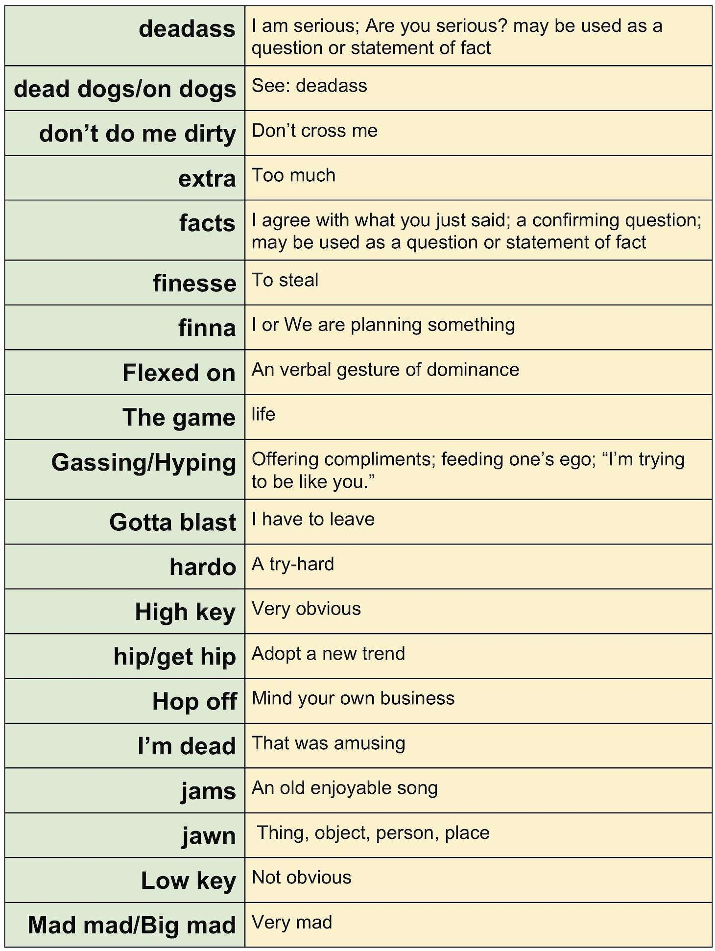 Generation Z Dictionary Teacher Breaks Down Slang Words Used By Students Recent News Drydenwire Com Slang Words Teacher Break Writing Humor