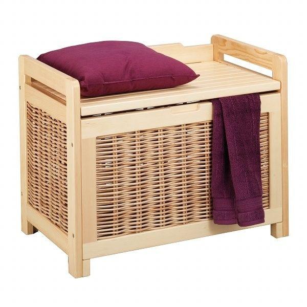boite de rangement panier linge 2 2 salle de bain. Black Bedroom Furniture Sets. Home Design Ideas