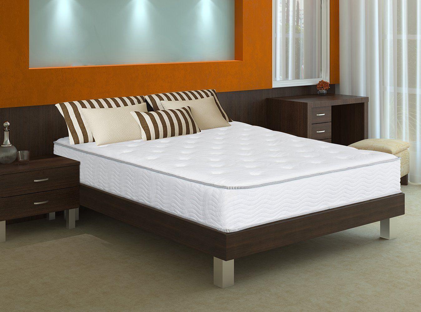 safavieh dream collection serenity white and grey spring mattress