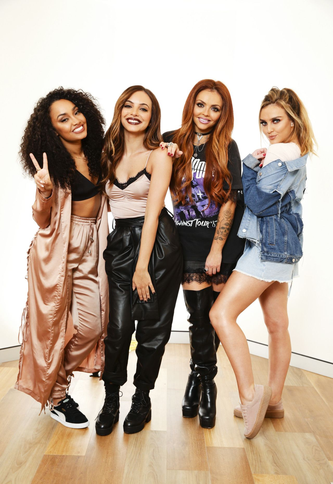 Little Mix The Daily Telegraph Sydney Little Mix Outfits