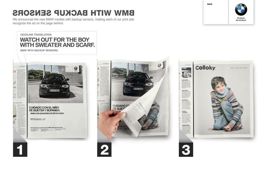 BMW with Backup Sensors: Kid Guatemala