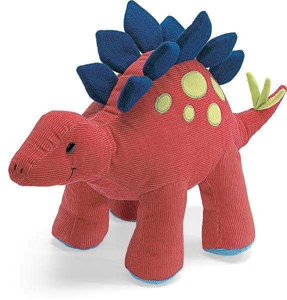 "Aaah Dinosaur Stegosaurus Animal Chatter 6/"" Gund"