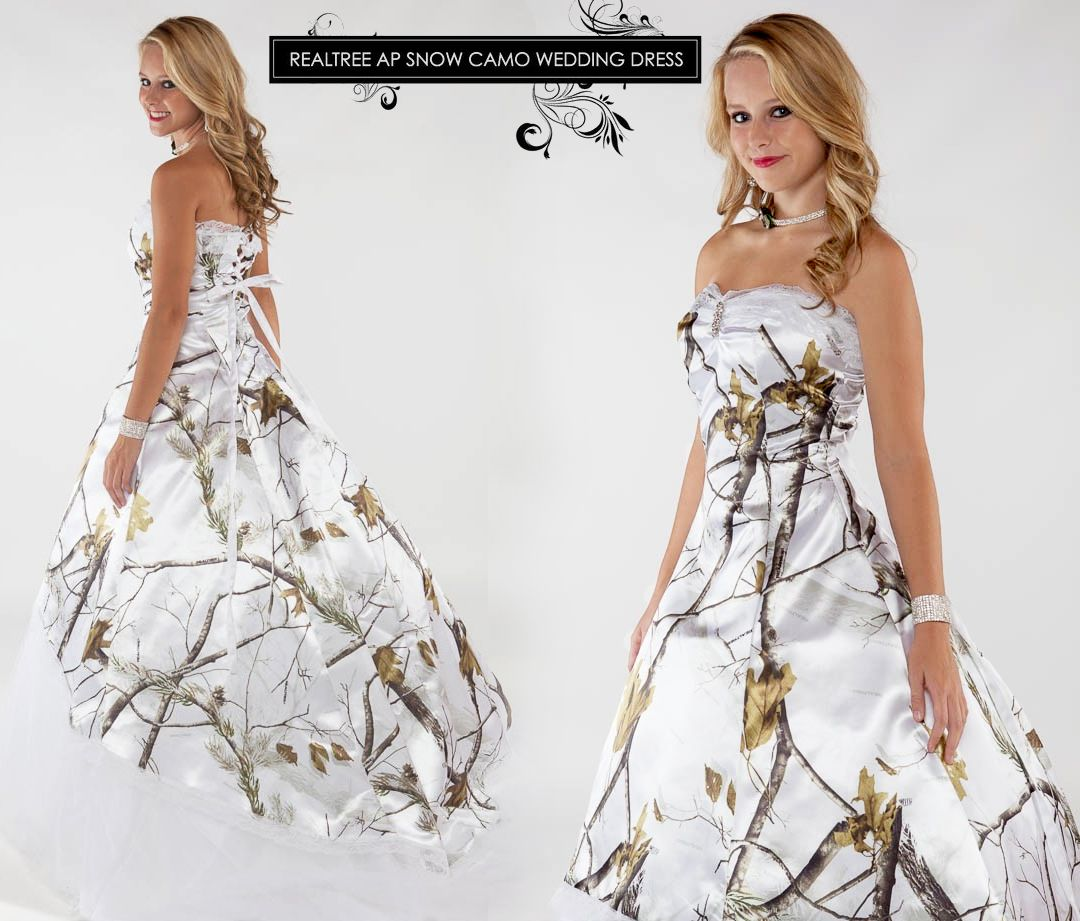Fat Ugly Wedding Dress: #RealtreeAPS #Camo Lace Wedding Gown With Train