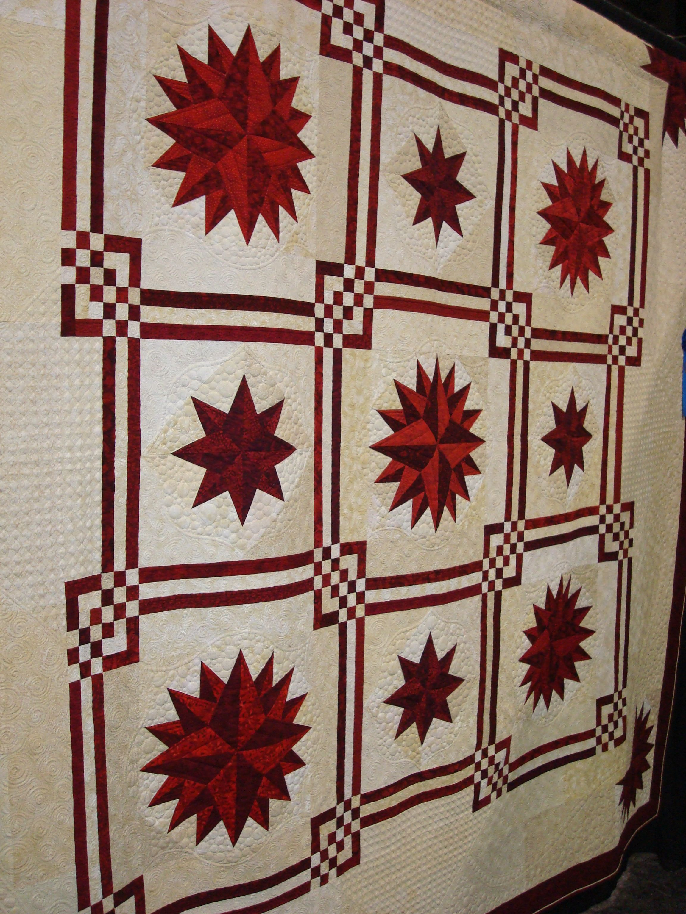Maritime designed by Judy Martin. Pattern is in Stellar Quilts ... : quilting convention - Adamdwight.com