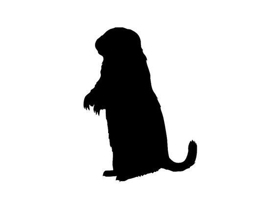 Prairie Dog Silhouette Custom Vinyl Decal Sticker Choose