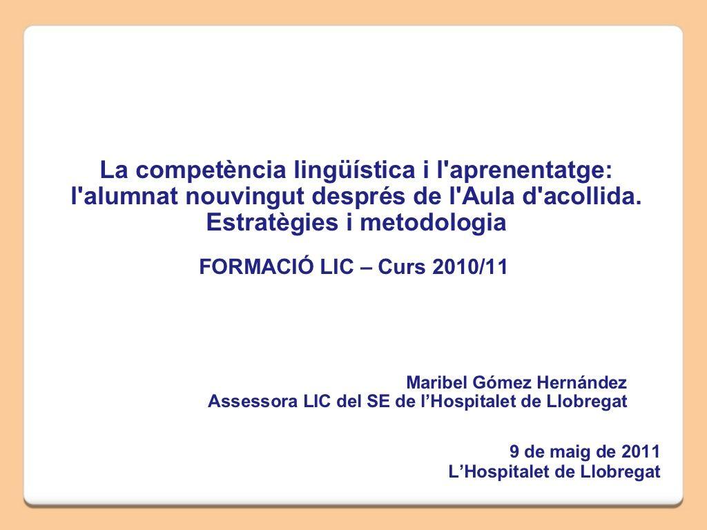 Sessio Formacio Lic 9 5 11 By Arnau Cerda Via Slideshare