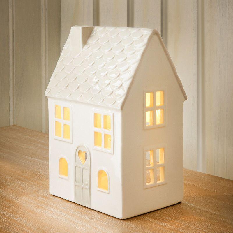 310513 Ceramic House Lamp 2 Bm Christmas Ideas 2017 Pinterest