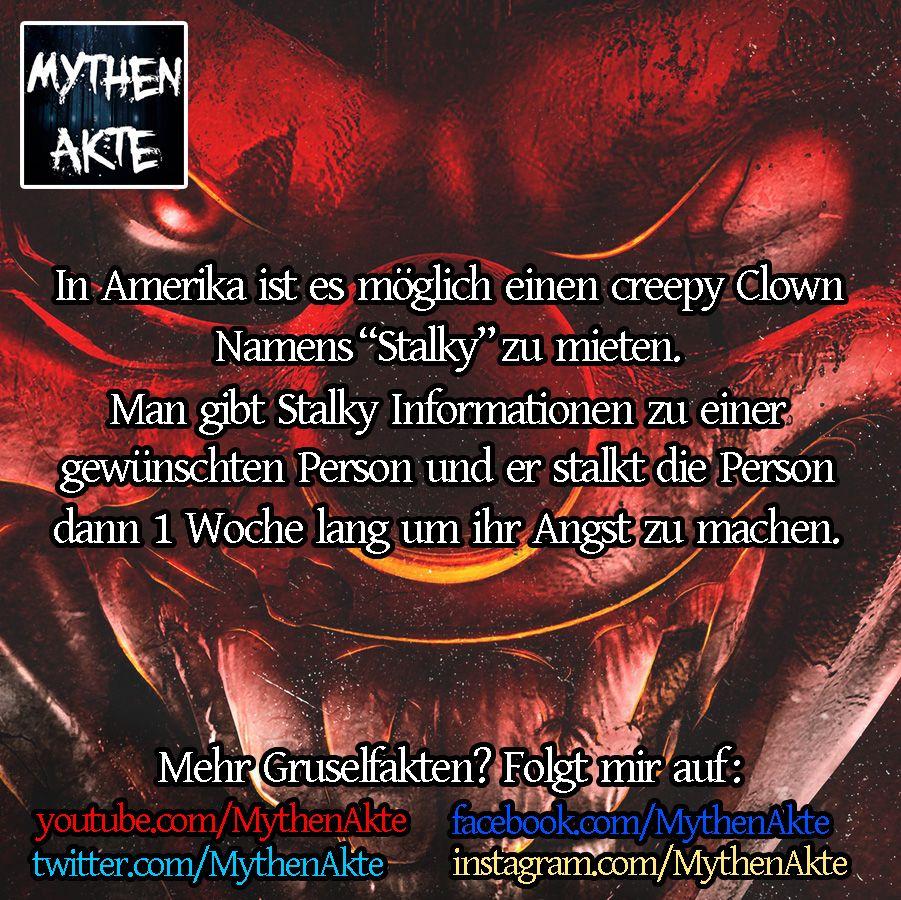 Gruselige / Horror Fakten | Horrorfakten | Horror, Funny ...