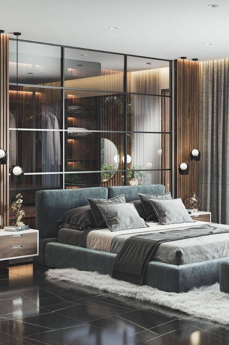 30+ Best And Comfortable Bedroom Ideas With You 2019 - Page 22 of 35 - My Blog