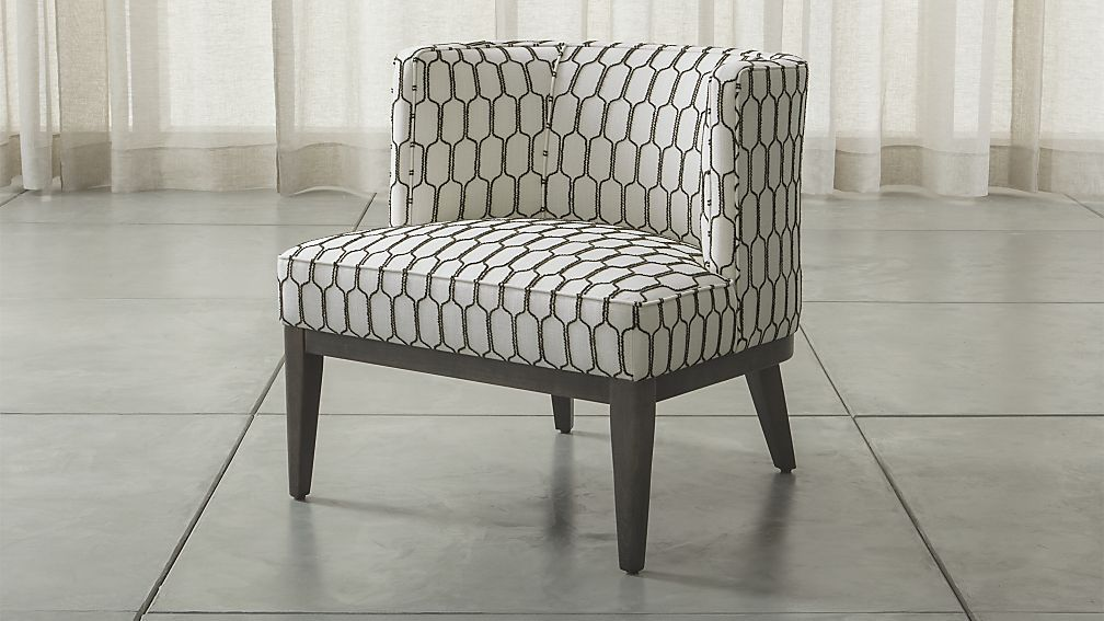 Grayson Chair Goldenrod Crate And Barrel Living Room Chairs