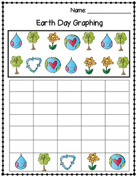 Earth Day Picture Count And Graph Worksheet With Images Earth