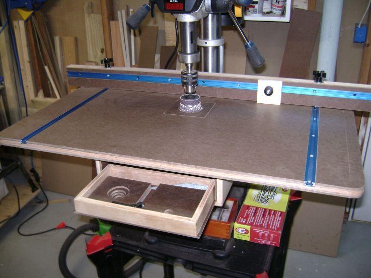 Micro Jig Drill Press Table Drill Press Table Kreg Owners