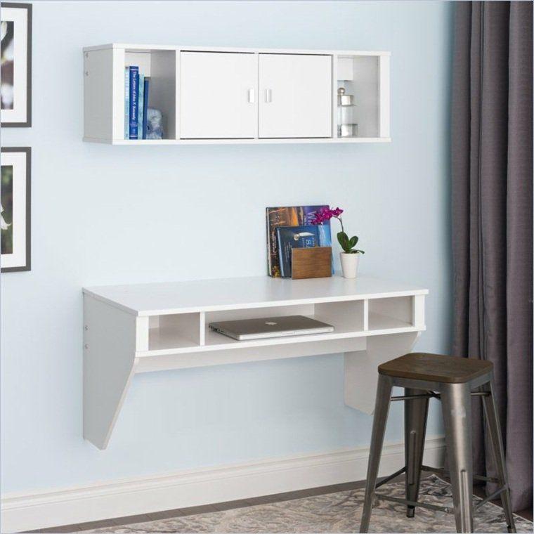 Petit Bureau Moderne Floating Desk Floating Wall Desk White Floating Desk