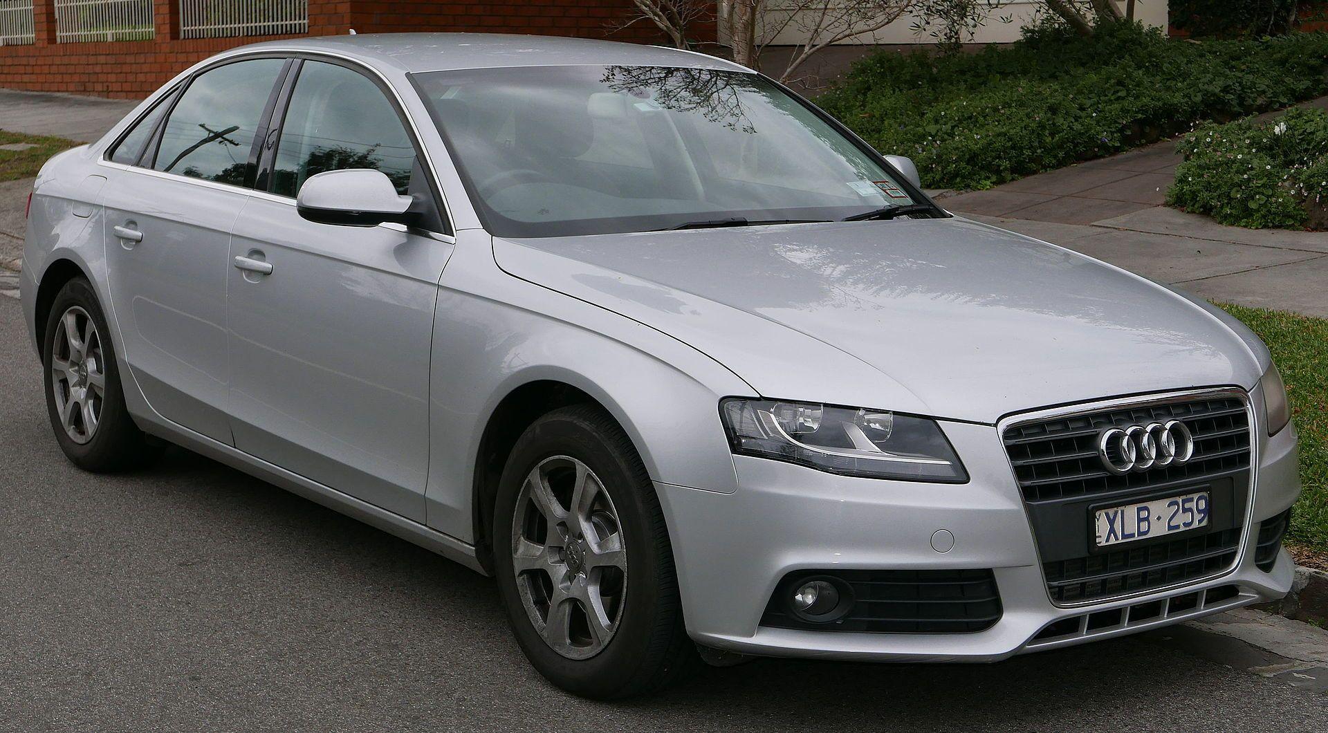 2009 Audi A4 (8K MY10) 2.0 TDI sedan (2015-07-09) 01.jpg | Audi a4 ...