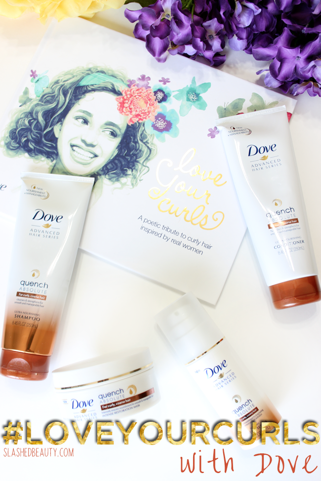 Review Dove Quench Absolute Collection Curly hair
