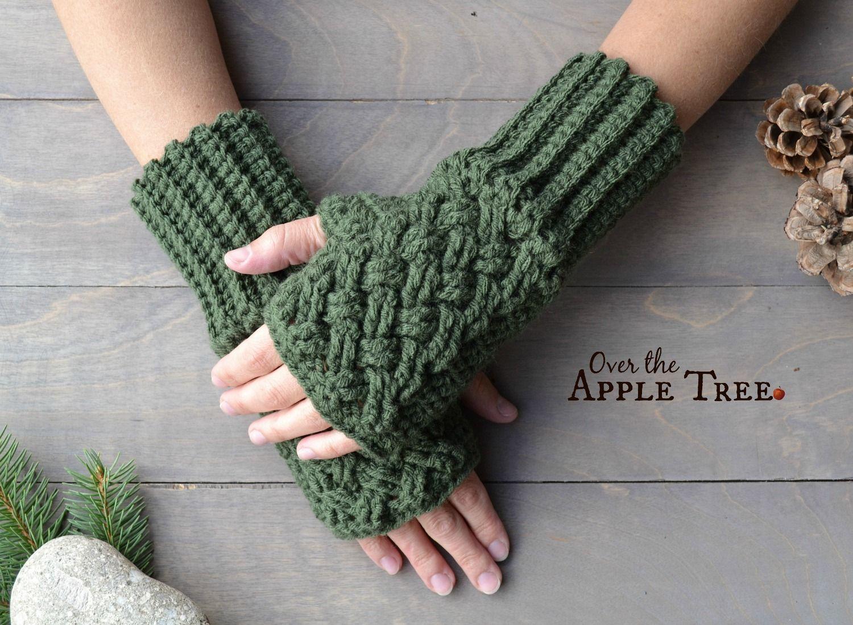 Celtic weave fingerless gloves pattern by over the apple tree free pattern celtic weave fingerless gloves pattern by over the apple tree bankloansurffo Images