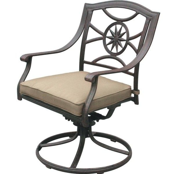 Swivel Rocker Outdoor Dining Chairs Chair Covers In Uganda Darlee Ten Star Cast Aluminum Patio Dl503 3 101 This Features