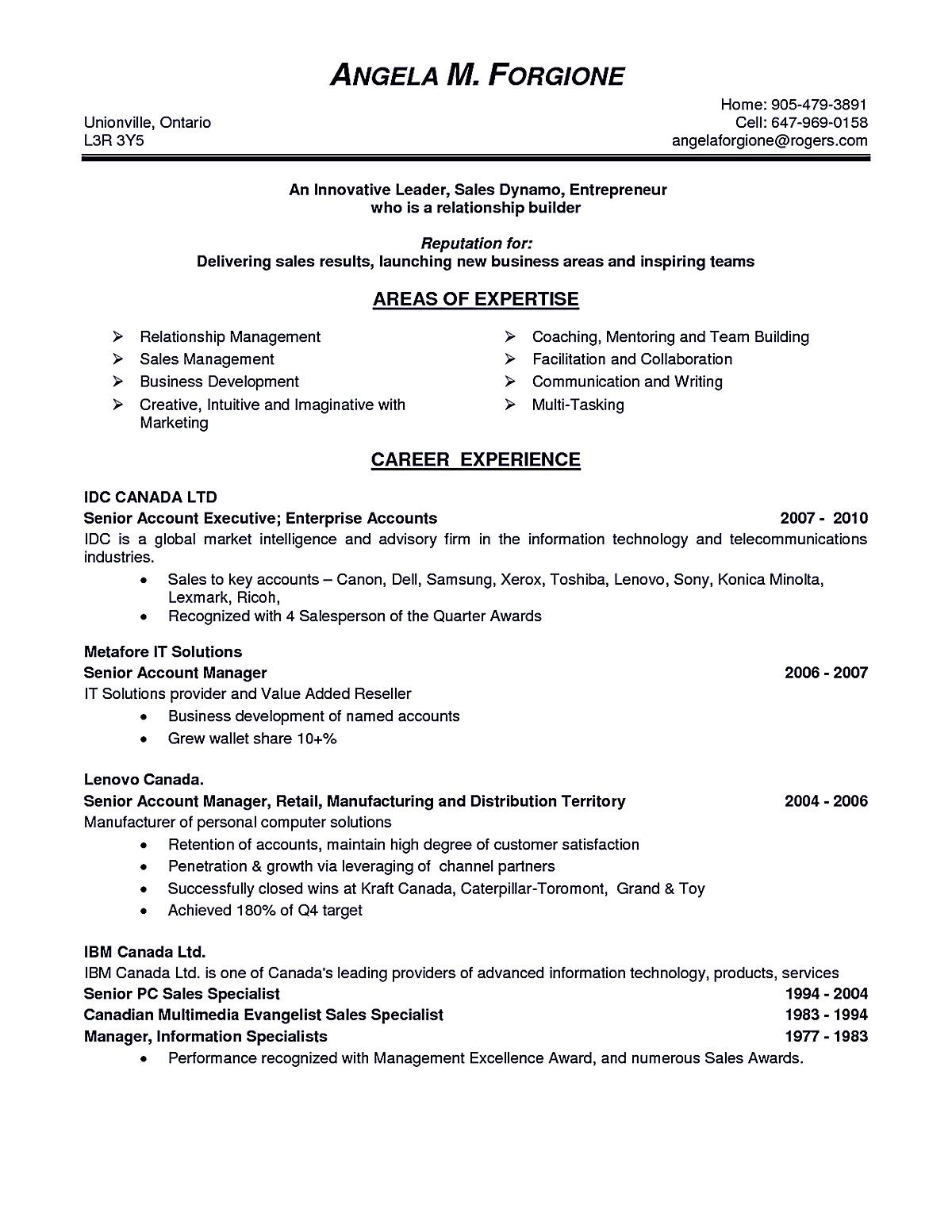 Account Manager Resume Account Executive Resume Is Like Your Weapon To Get The Job You