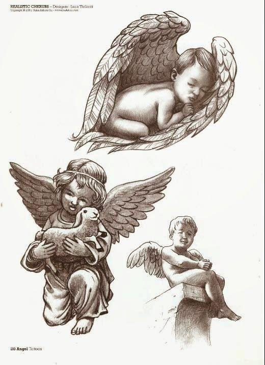 Los Mejores Tatuajes De Angeles Para Chicas Femeninos Y Llenos De Fuerza Tatuajes De Querubin Tatuajes De Angel Para Hombres Tatuaje Angel
