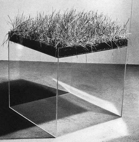 Hans Haacke | GRASWÜRFEL, 1967