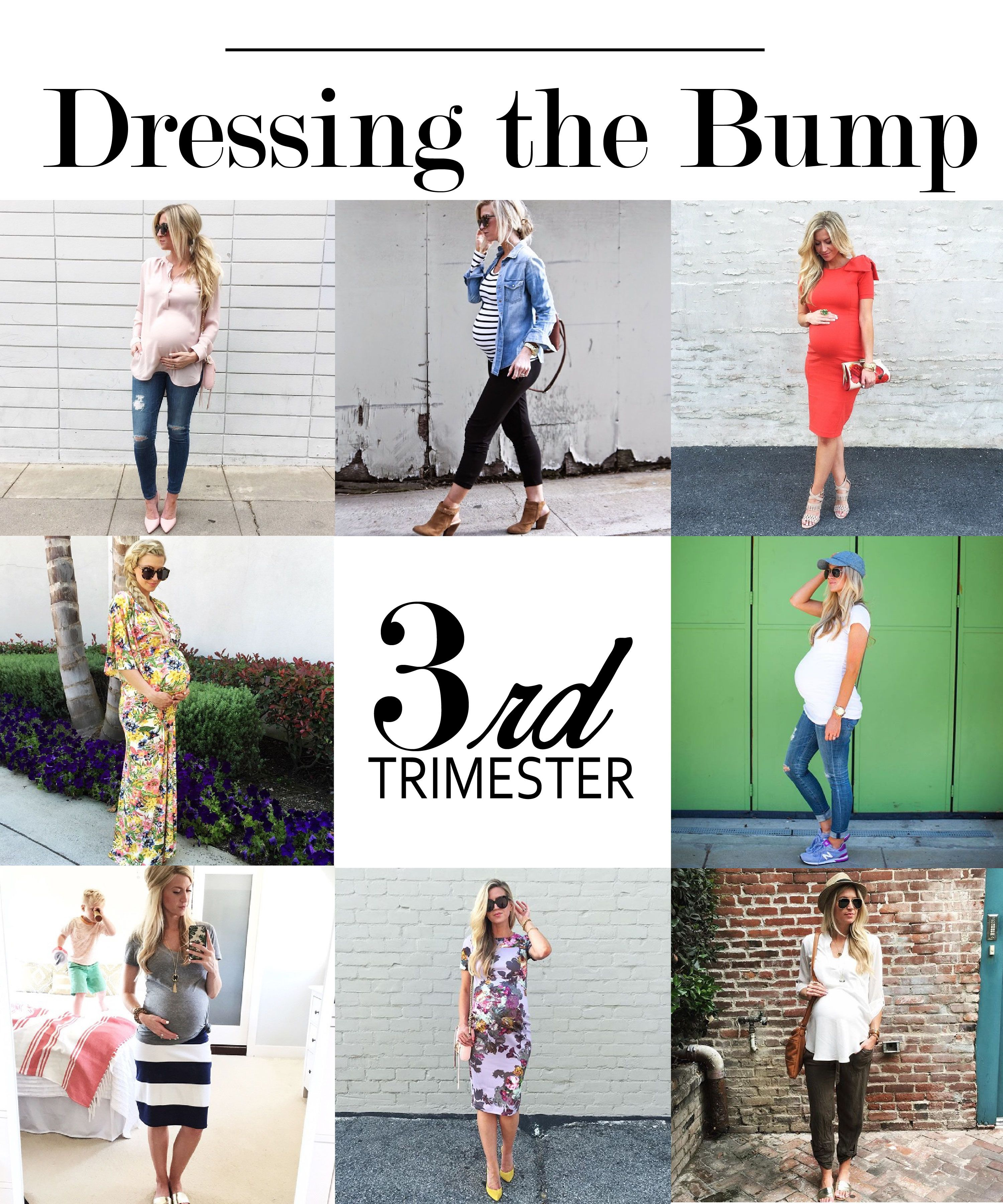 0f5e68e6f0a Elle Apparel  DRESSING THE BUMP SERIES  WHAT TO WEAR DURING YOUR THIRD  TRIMESTER