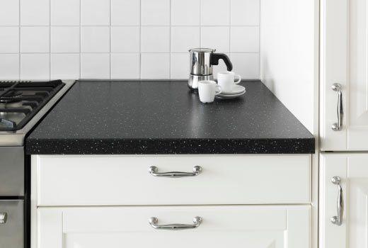 ikea countertops. like the darker countertops | clean new home