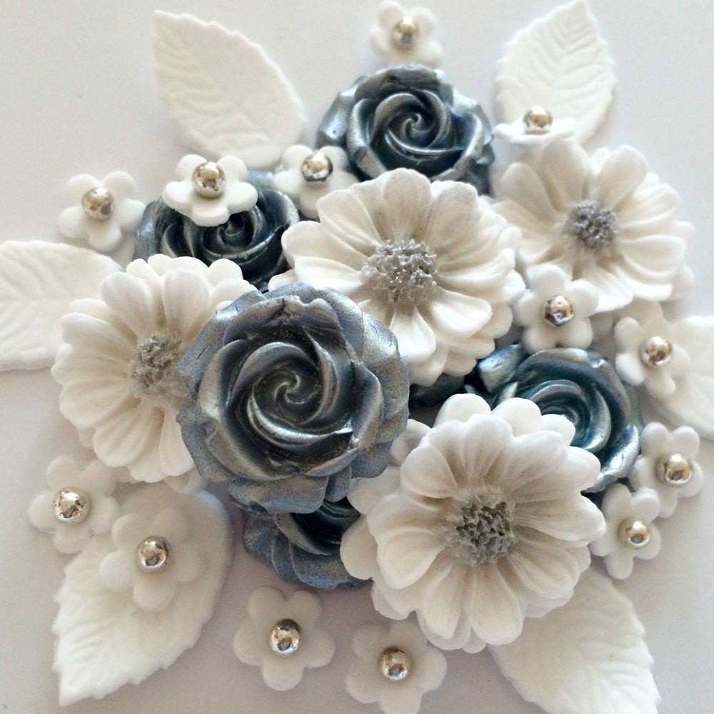 How To Enhance Your Cake With Sugar Flowers For Wedding Cakes