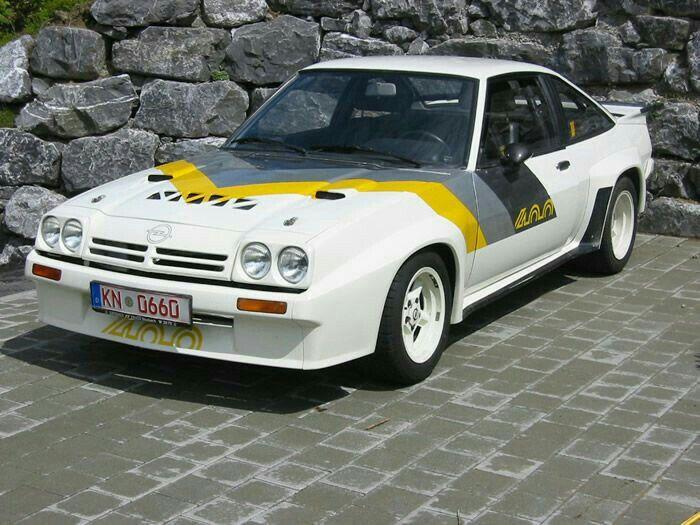 Opel Manta 400 Opel Manta Klasse Auto Opel Manta 400