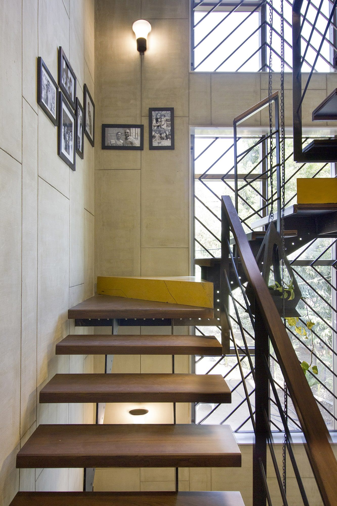Inside Out House   A+T Associates   Stairs design modern ...