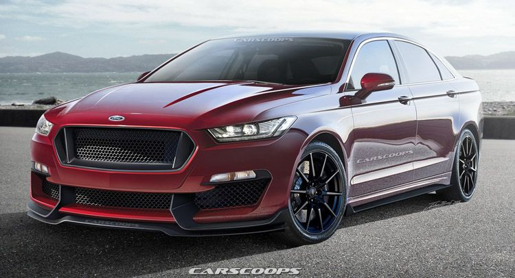 Future Cars Putting The Sho Into Ford S All New 2016 Taurus Carscoops Ford Taurus Sho Taurus 2019 Ford