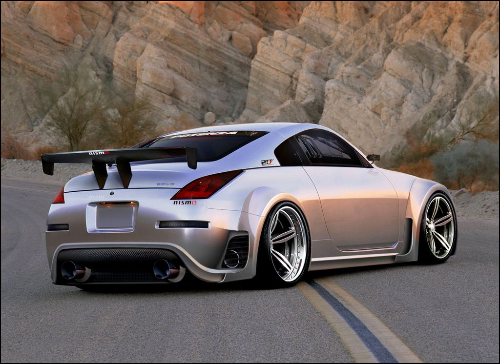 Minus The Wing This Thing Is Sooo Sick Nissan 350z Modified Cars Nissan