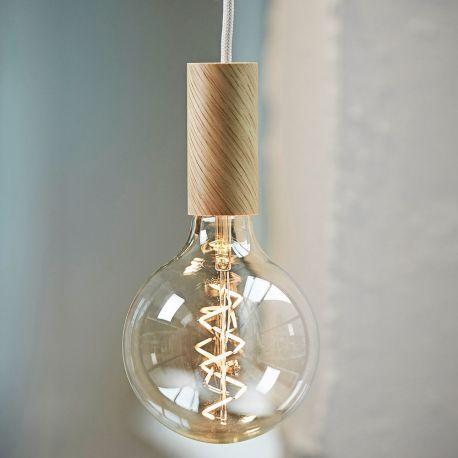 Ampoule filament spirale led vintage int rieurs et led - Ampoule nud collection ...