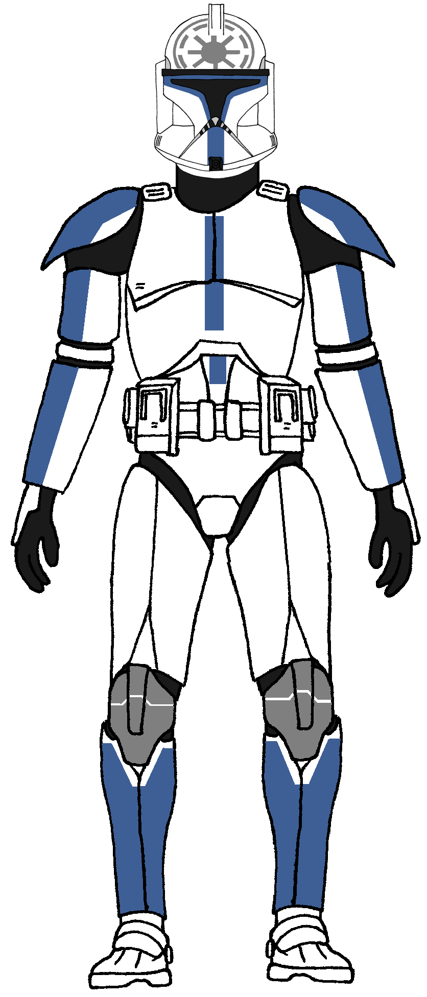 Clone Trooper 501st Legion Jesse 1 (With images) Star