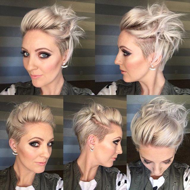Instagram Photo By Arizona Hairstylist Feb 8 2016 At 11 30pm Utc Short Hair Styles Trendy Short Hair Styles Hair Styles 2016