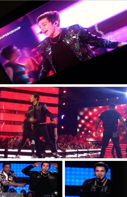 Photos of Austin on The Next Star Finale!