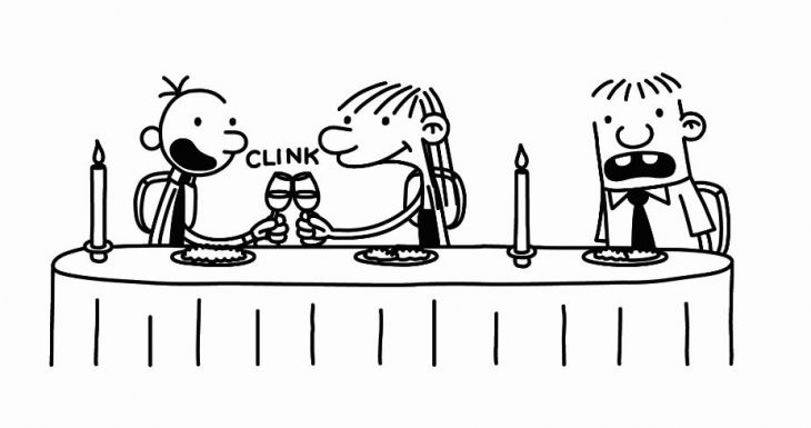 Printable Coloring Page Of Diary A Wimpy Kid For Children