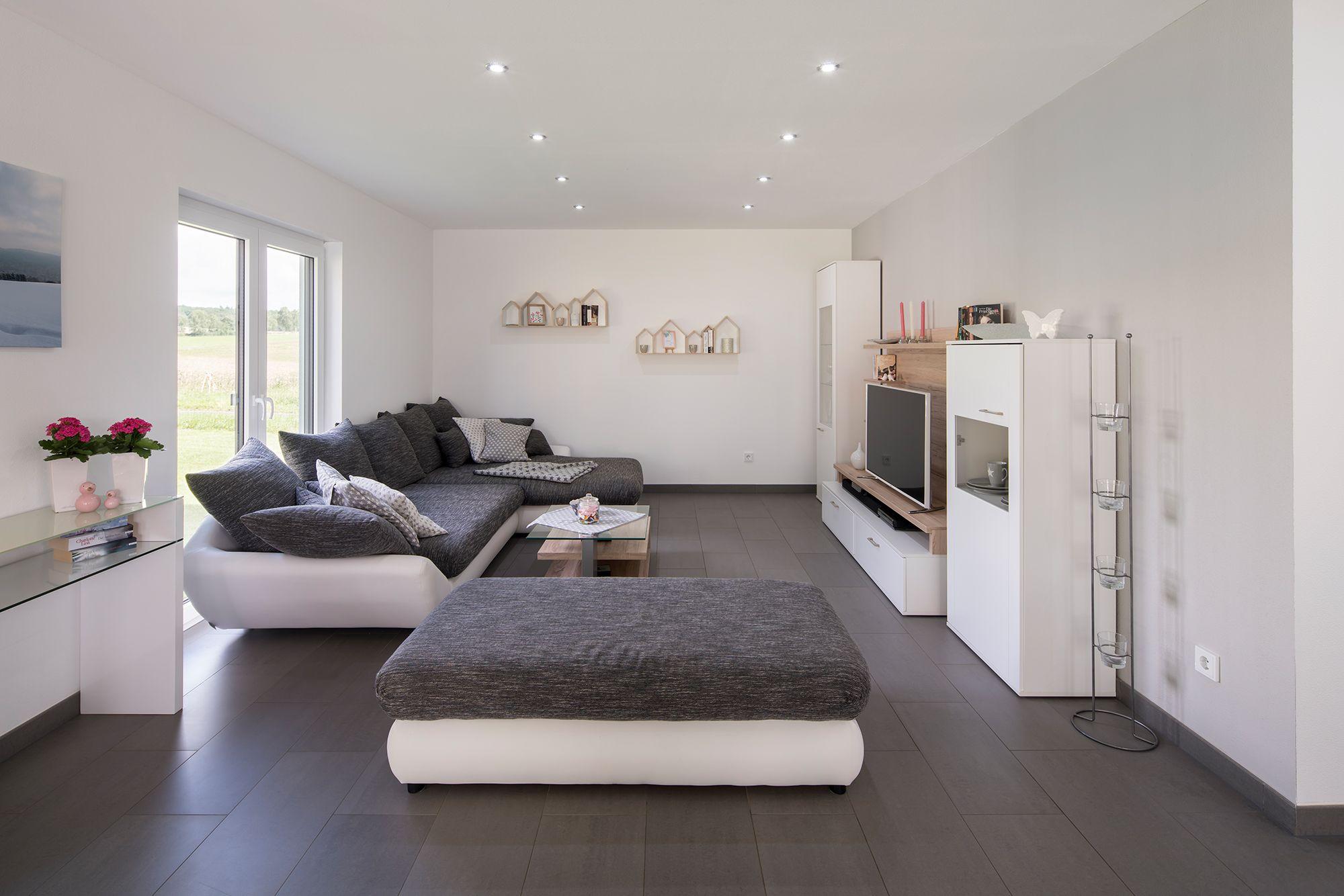 Fertighaus Wohnideen – Wohnzimmer  Wohnideen wohnzimmer, Wohnen