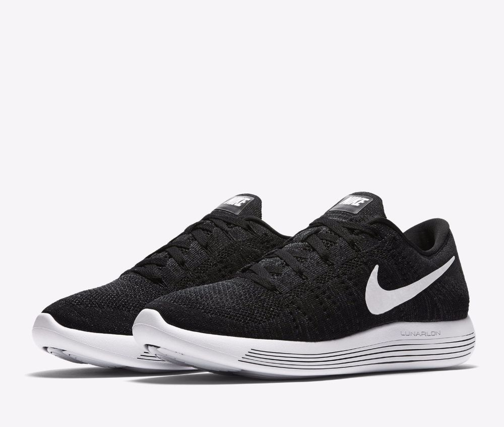 2a8a79cac9f1 Nike LUNAREPIC Flyknit Running Shoes Mens 10.5 Black White Anthracite  843764 002  Nike  RunningCrossTraining