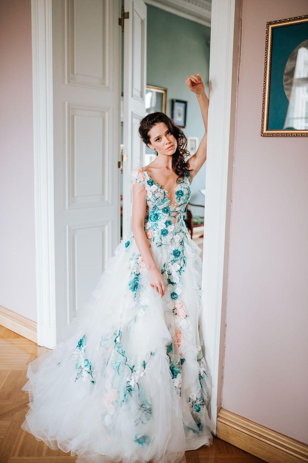 19++ Rose wedding dress designer information