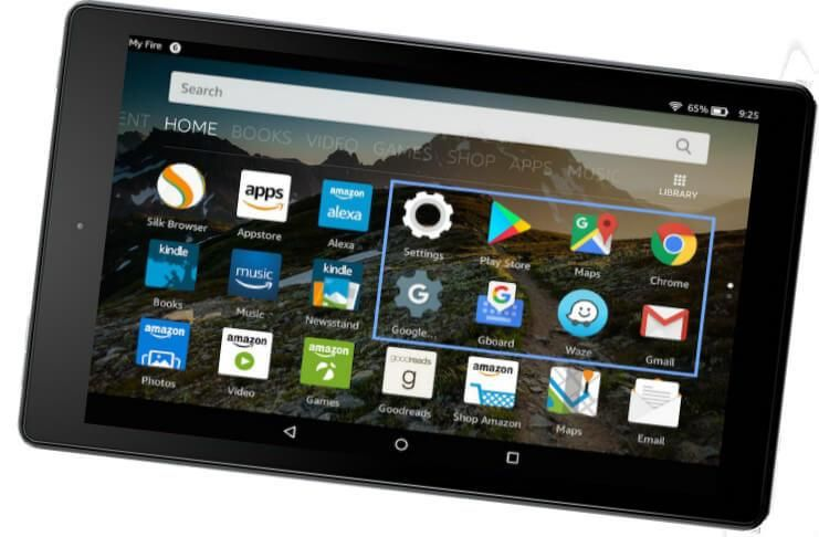 How to Install Android Apps on Amazon Kindle Fire (No