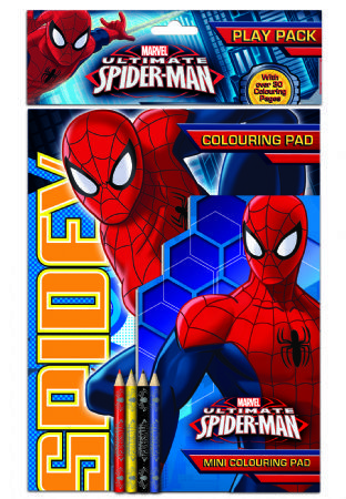 Marvel S Spiderman Play Pack Ultimate Spiderman Spiderman Spiderman Coloring