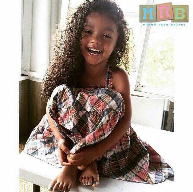 African American & Mexican Phoenix - 5 Years Submission By: @phoenix_kiyomi www.mixedracebabies.org #MRB #MixedRaceBabies #MixedLove