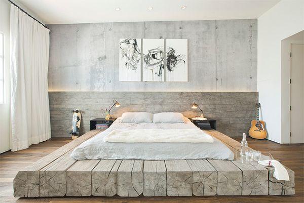 bett selber bauen für ein individuelles schlafzimmer-design_diy, Schlafzimmer