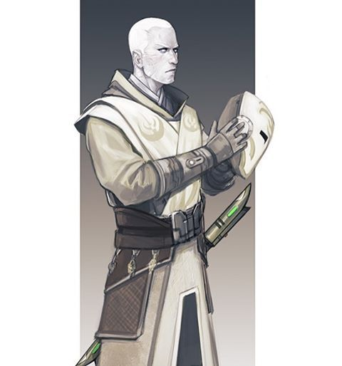 Force Character Design Pdf : Arkanian offshoot jedi temple guard character design for