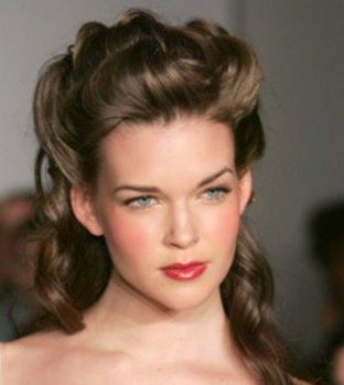southern belle hairstyle. 's