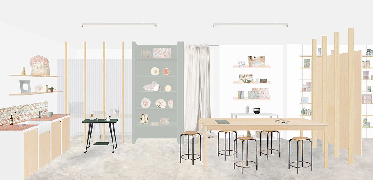 Architectural Drawing Atelier Solene Leglise Heju Studio With