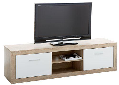 2 Tv Meubel.Tv Meubel Favrbo Eiken Wit Inrichting Tv Bench Cozy Place Room